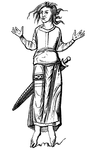 Costume of the Franks in the Eighth Century