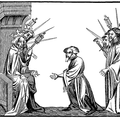 King Charlemagne receiving the Oath of Fidelity