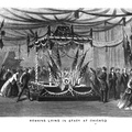 Remains Lying in state at Chicago