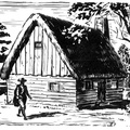 Early Jamestown House