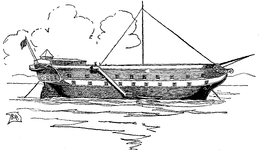 The Prison Ship 'Jersey'