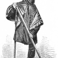 The One-legged sweeper at Chancery Lane