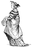 Costumes of the German Bourgeoisie in the Middle of the Sixteenth Century2