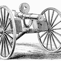 Gatling Gun on Field Carriage