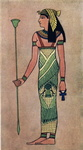 An Egyptian goddess