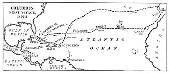 The First Voyage of Columbus
