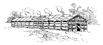 Long House of the Iroquois