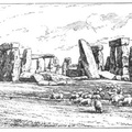 Stonehenge from the North-West