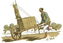 A Porter carrying goods