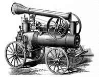 Frick portable steam engine of 1877