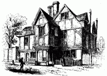 Cowley's house—street front