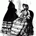Ladies' Fashions for February 1852