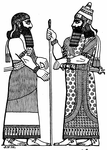 An Assyrian King and His Chief Minister
