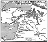 Asia Minor, Syria, and Mesopotamia