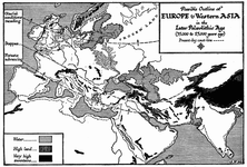 Europe and Western Asia in the Later Palæolithic Age