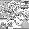 Tracks of Migrating and Raiding Peoples, 1-700 A.D.