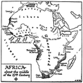Africa in the Middle of 19th Century