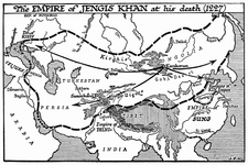 Empire of Jengis Khan, 1227