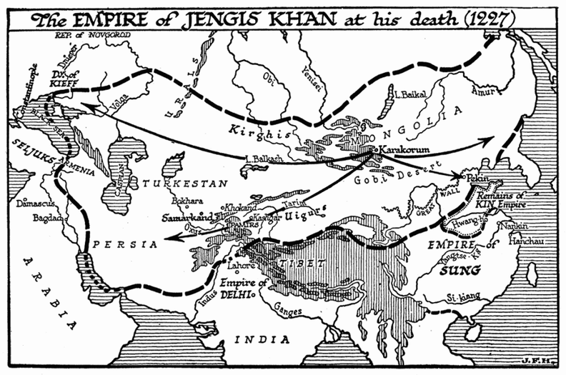 Empire of Jengis Khan, 1227.png
