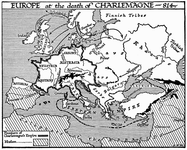 Europe at the Death of Charlemagne