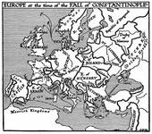 Europe at the Fall of Constantinople