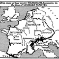 Frankish Dominions in the Time of Charles Martel