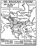 The Balkan States, 1913