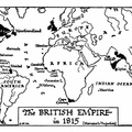 The British Empire in 1815