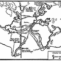 The Chief Voyages of Exploration up to 1522