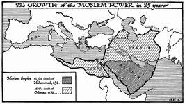 The Growth of Moslem Power in 25 Years