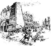The Indian Massacre At Falling Creek, March 22 1622