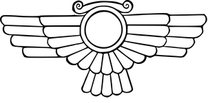 The 'Ring with Wings.' - Assyrian Form