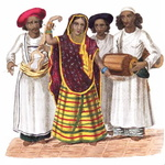 A Nautch Girl, or singing girl