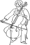 How to hold the Cello
