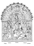 Durga, and other deities