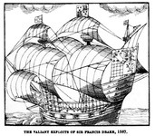 The Valiant Exploits of Sir Francis Drake