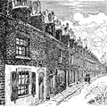A Typical Street in Bethnal Green