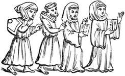 Costumes of the Four Orders of Friars
