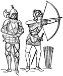 Man-at-Arms and Archer of the Fifteenth Century