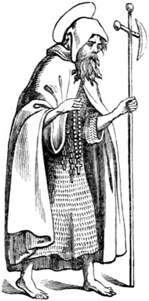 Pilgrim in Hair Shirt and Cloak.jpg