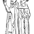 Saint Dominic and Saint Francis