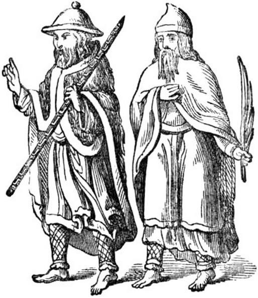 Thirteenth Century Pilgrims (the two Disciples at Emmaus).jpg