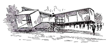 Santos-Dumont's Biplane which flew at Bagetelle