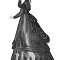 Dress of Black Silk