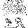 English dress fashions  worn in 1830