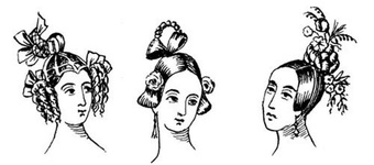 Hairstyles for 1836