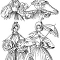 The costumes given for 1835 are indoor and walking dresses
