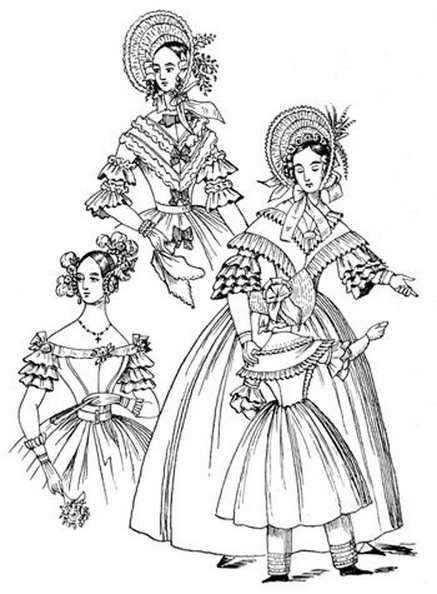 The dresses for 1837 are two walking-dresses and a ball dress, and also a child's costume.jpg