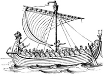 A Ship in the time of King Alfred