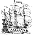 A ship of the reign of Henry VIII